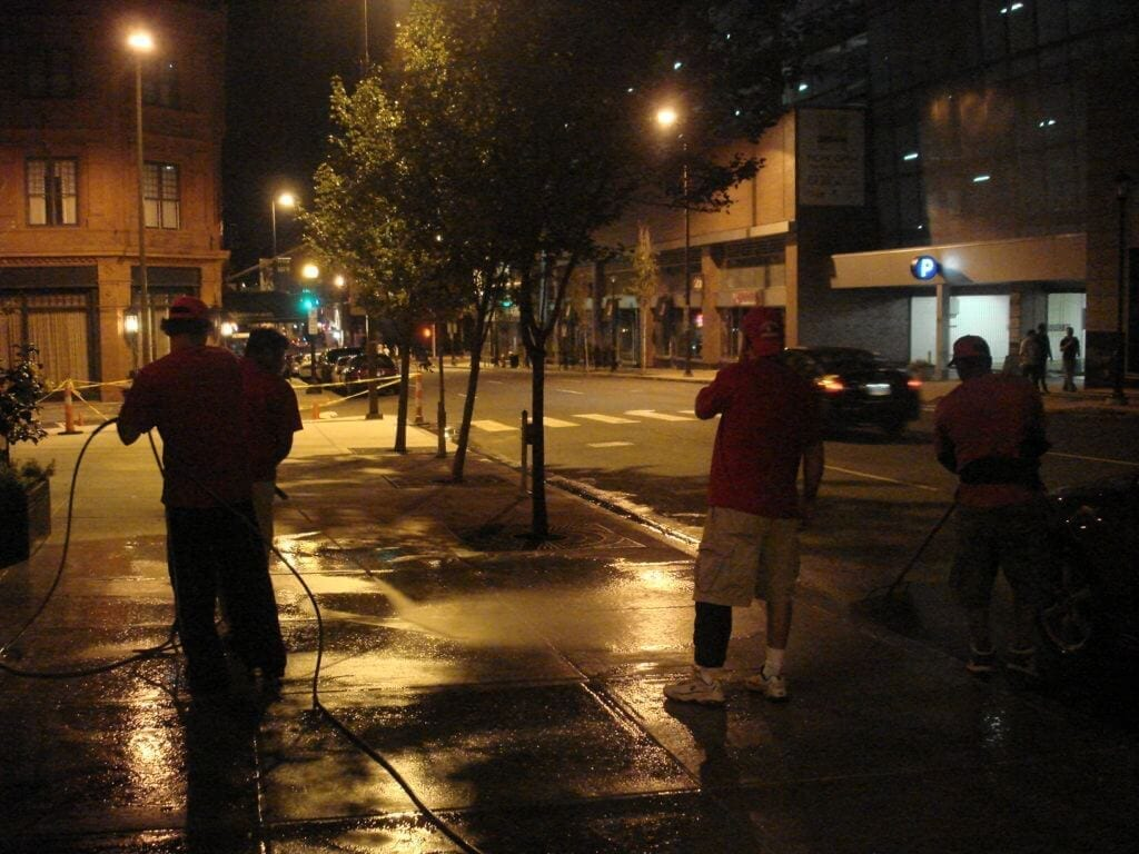 after hours power washing new york