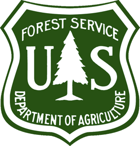 Forest Service Department of Agriculture Badge