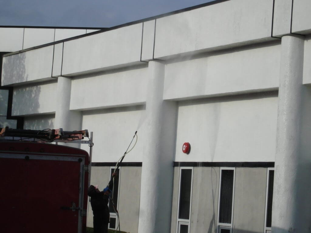 commercial pressure washing new york