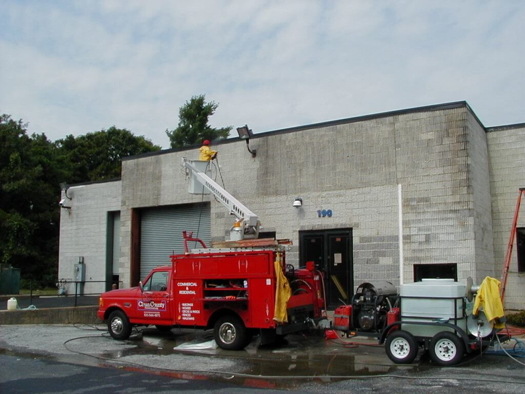 industrial pressure washing new york