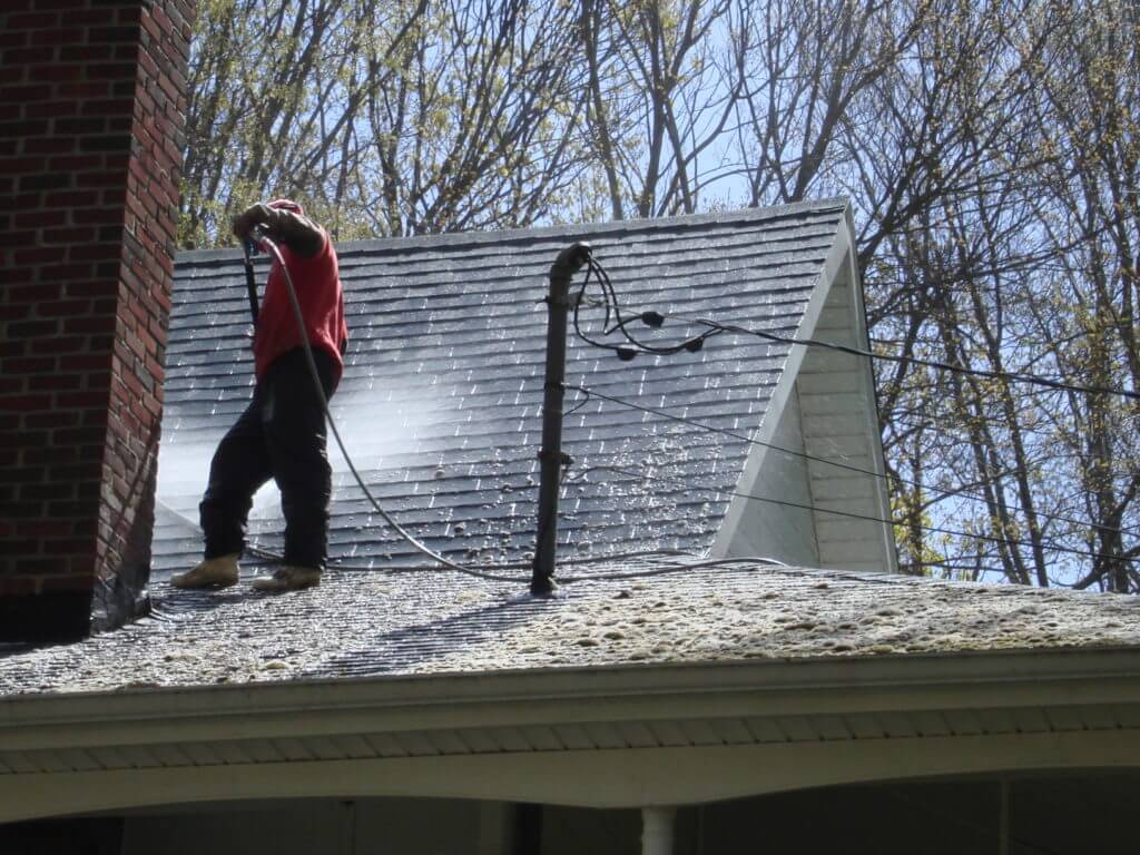 new york power washing roof cleaning