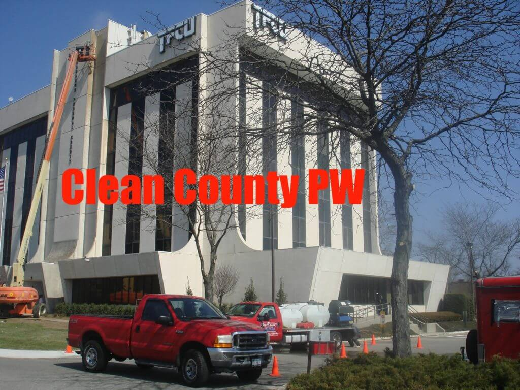 office pressure washing new york after