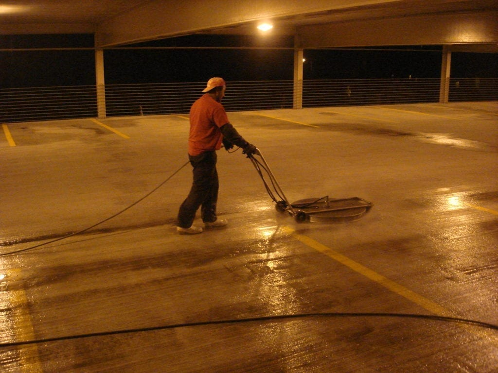 parking garage pressure washing new york 03