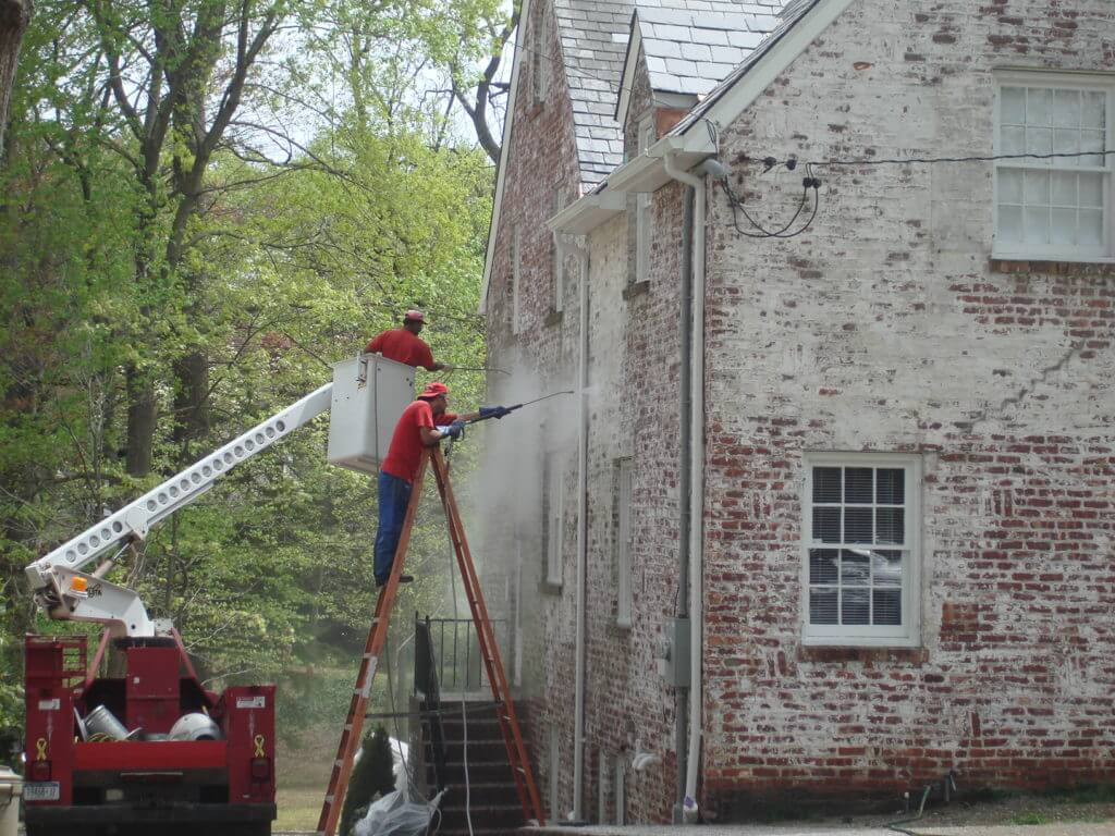 residential equipment pressure washing new york
