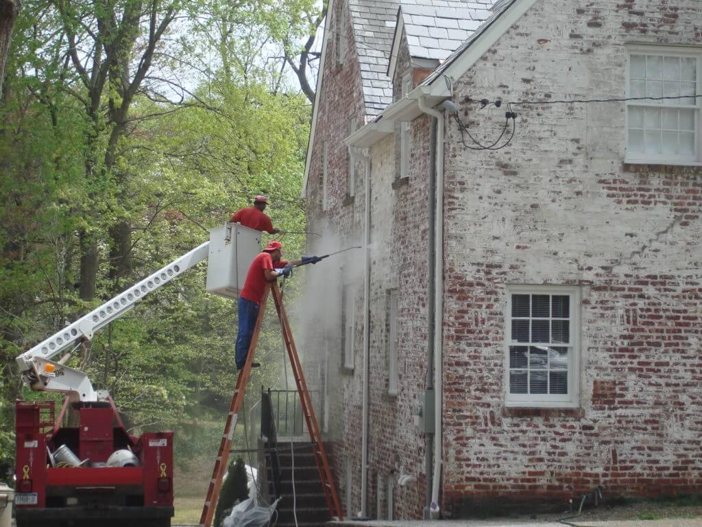 residential equipment pressure washing new york