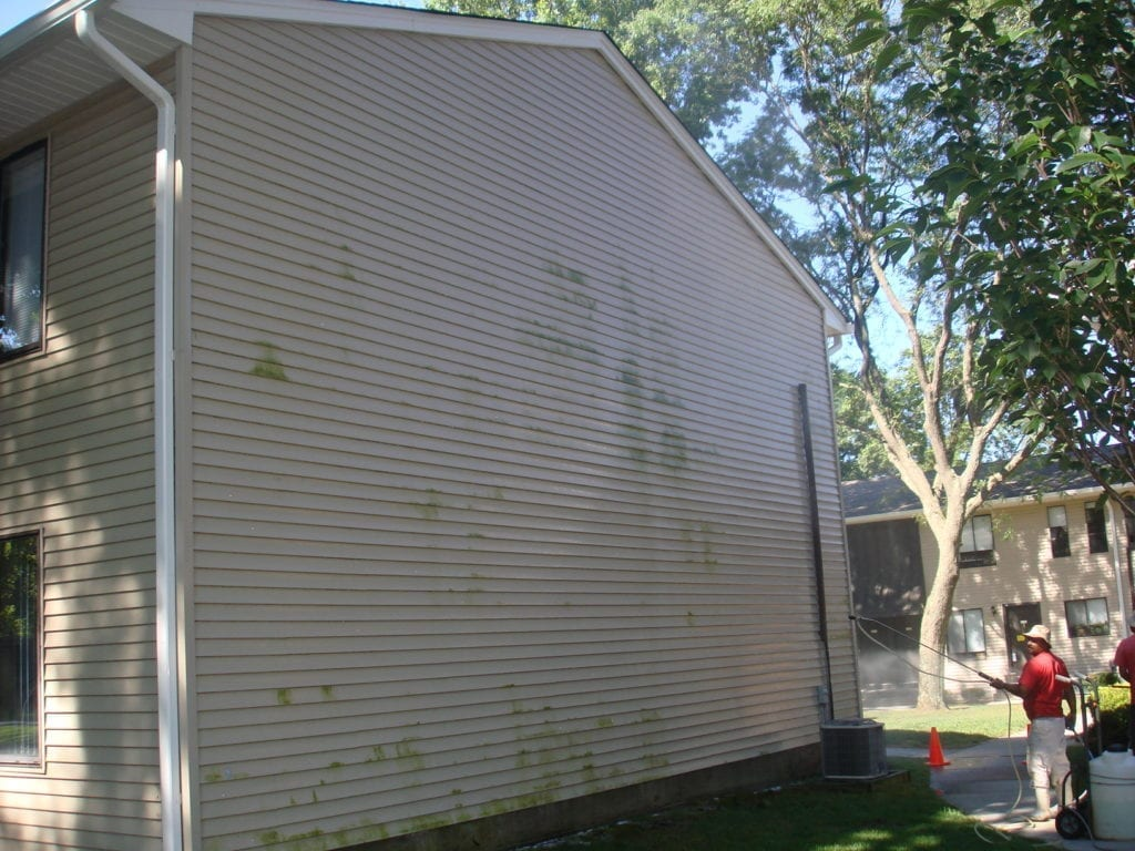 Your property deserves an exterior cleaning ally - and we're here to fill those shoes! Clean County proudly serves HOAs, condos, and multi-unit properties in the area with comprehensive exterior cleaning solutions. Complete Exterior Cleaning Services Managing a property is a big job - and we're here to make it that much easier. With our one-stop-shop solutions, you can count on the best quality in: Your property deserves an exterior cleaning ally - and we're here to fill those shoes! Clean County proudly serves HOAs, condos, and multi-unit properties in the area with comprehensive exterior cleaning solutions. Complete Exterior Cleaning Services Managing a property is a big job - and we're here to make it that much easier. With our one-stop-shop solutions, you can count on the best quality in: townhouse power washing new york Building Washing We have capability for power washing and soft washing, which allows us to bring the best clean to any exterior surface. We remove stains, buildup, and mold and mildew from virtually every material, including: Vinyl Brick Stucco Wood Cedar The Area's Top Provider Of Quality Parking Garage Cleaning & Maintenance Services. Parking Garages should be cleaned in the Northeast at least once a year, and in high traffic garages twice a year, due to the salts and other contaminants that get into the garage surfaces. They eventually get absorbed into the concrete parking surfaces and soon will cause the rebar to rot out. When this happens the concrete begins to leak,crack and in the worse case scenario the garage itself can be condemned. We use state of the art hot and cold water powerwashing machines ranging up to 4000 PSI with up to 200+ degree water, surface machines and any cleaning solutions needed for all parking garage cleaning. Our knowledgeable staff is experienced on how to lighten or when possible remove stains completely. Each Parking Garage cleaning is approached based upon the existing conditions, and we will use the correct 