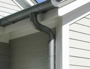 "Gutter Cleaning & Downspout Brightening Your home's gutters and downspouts are more than a minor detail! While often overlooked, you will be amazed at the dramatic difference clean gutter and downspout exteriors can make! Similar to your home's siding, gutters and downspouts can accumulate unsightly dark streaks and stains. Our specialized Gutter Brightening service will safely and effectively remove these ugly discolorations to reveal fresh, clean, ""like new"" gutters and downspouts! The perfect finishing touch for any House or Roof Cleaning!"
