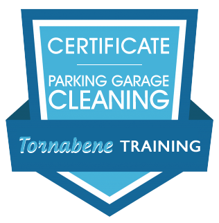 Parking Garage Cleaning Certificate